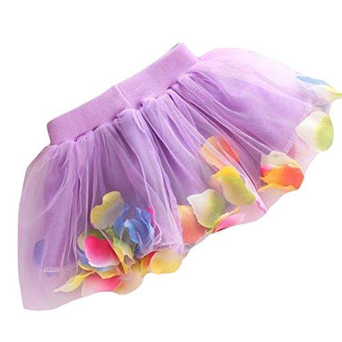 Orlando Johanson New Toddler Baby Girls Dress Princess Party Dress Layer Soft Tulle Purple M - Macy Orlando