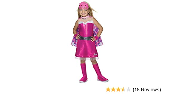Amazon Barbie Princess Power Super Sparkle Deluxe Costume Childs Small Toys Games