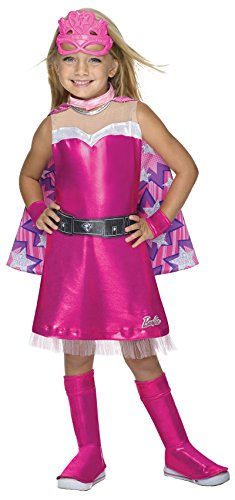 Girls Barbie Costumes (Barbie Princess Power Super Sparkle Deluxe Costume, Child's Medium)