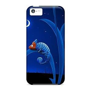 Charming YaYa Premium Protective Hard Case For Iphone 5c- Nice Design - Lizard