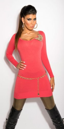 In-Stylefashion - Jerséi - para mujer rojo claro