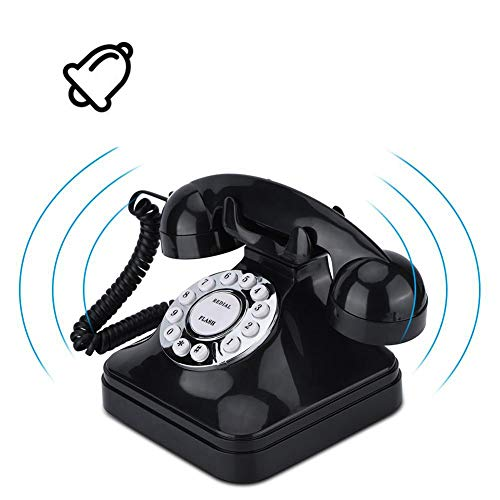 Zopsc WX-3011 Retro Landline Telephone, Multi Function Vintage Corded Telephones Land Line, for Home, Office, etc from Zopsc