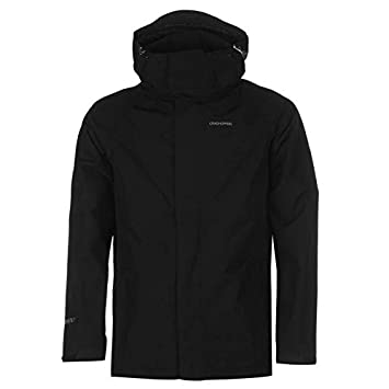 Craghoppers Ashton Goretex Chaqueta para Hombre Color Negro Chaquetas Abrigos Outerwear, Negro, Medium: Amazon.es: Deportes y aire libre