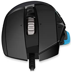 Logitech G502 Proteus Core Tunable Gaming Mouse, 12,000 DPI On-The-Fly DPI Shifting, Personalized Weight and Balance Tuning with (5) 3.6g Weights, 11 Programmable Buttons, Fully Customizable Surface
