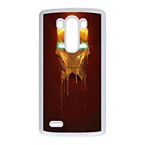 Iron Man Mask LG G3 Cell Phone Case White Exquisite gift (SA_705168)