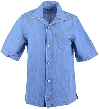 Diesel D Floy 0EASL - Camisa Vaquera de Manga Corta para ...