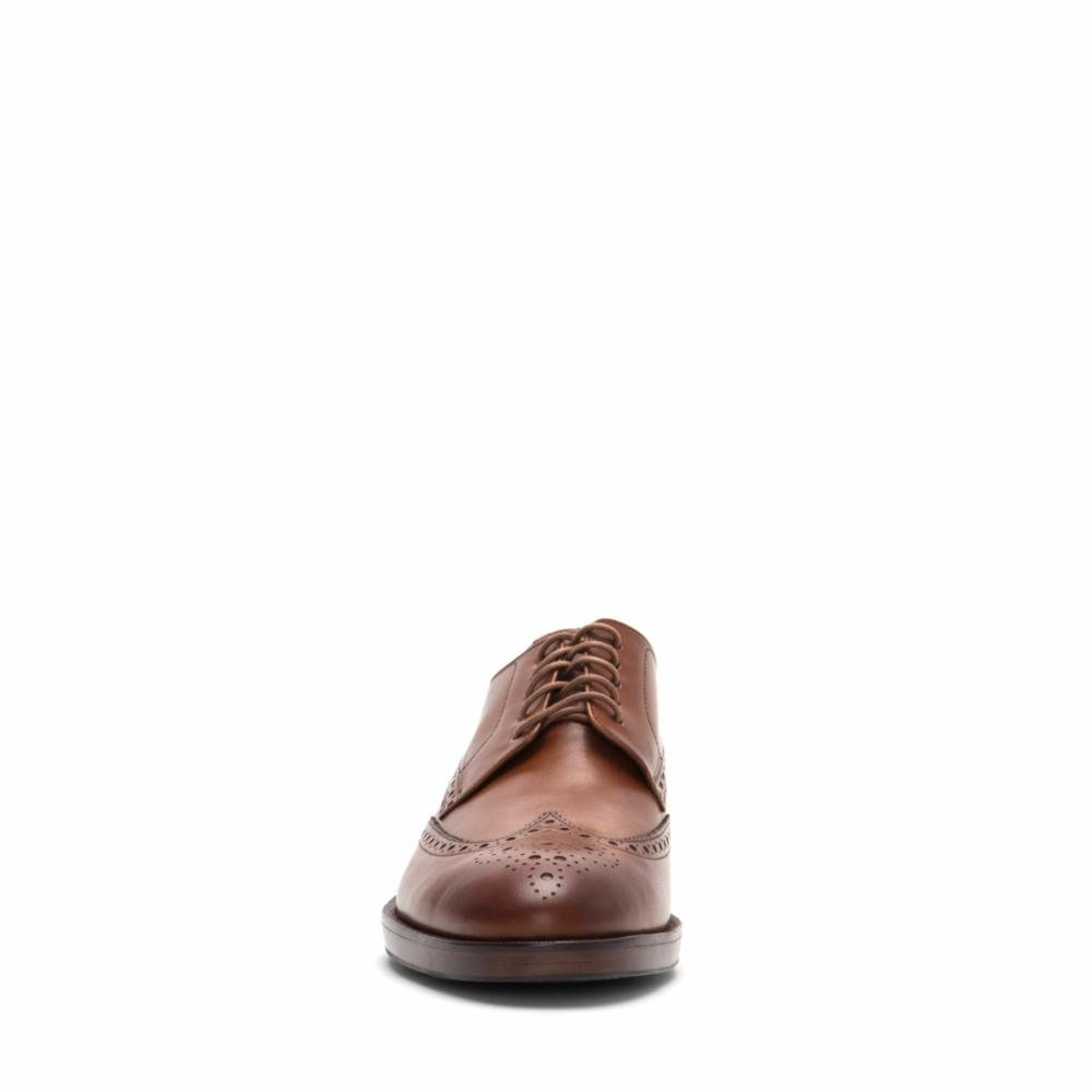 Cole Haan Mens Harrison Grand Short Wingtip Oxford 14 British Tan by Cole Haan (Image #2)