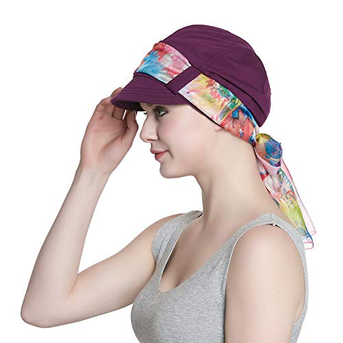(Cotton Hats for Women Chemo Winter Cozy Hat)