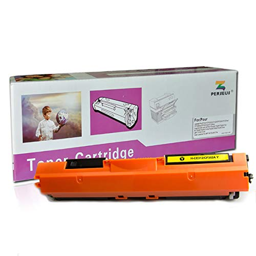 PERSEUS Compatible Toner Cartridge Replacement for HP 130A CF352A Yellow, Works for HP Color Laserjet Pro MFP M176n M177fw M176 M177 Printer