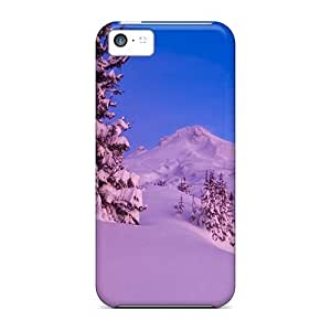 Series Skin Case Cover For Iphone 4/4s(a Pink Winter)