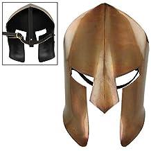 Armor Venue: Ancient Greek Spartan Battle Mask Bronze One Size