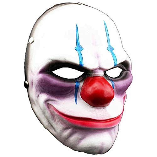 Halloween Mask Payday 2 Theme Face Party Mask Game Harvest Day 2 Clown Helmet Resin -