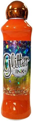 3oz Glitter Ink Orange Bingo Dauber