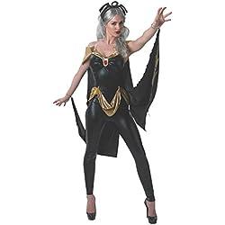 Secret Wishes Women's Marvel Universe Secret Wishes Storm Costume Cat Suit and Mask, Multicolor, Medium