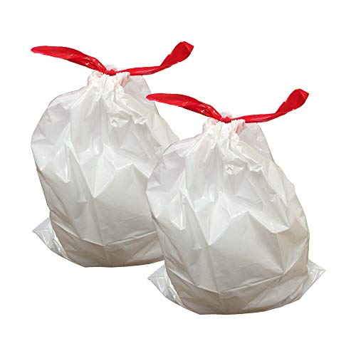 Think Crucial 20PK Durable Garbage Bags Fit simplehuman 'S
