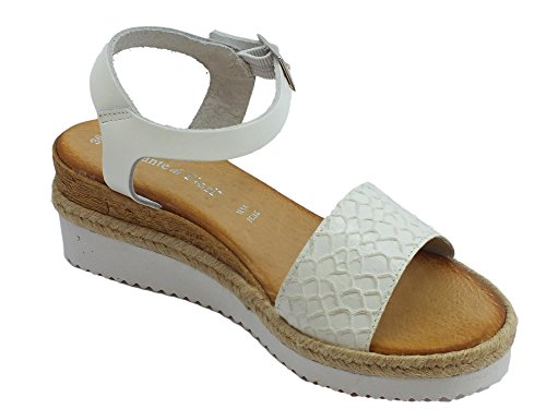 Mercante di Fiori Women's Fashion Sandals Bianco gTiaG7UBVS