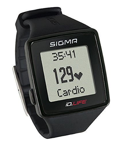 Sigma Sport ID.Life Heart Rate Monitor & Activity Tracker, Black by Sigma Sport