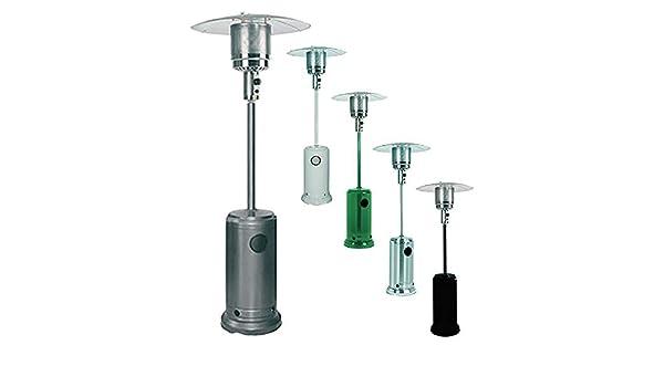 termopatio estufa de gas Seta Calefacción Exterior instalación (Sistema ufi) radiante Acero inoxidable: Amazon.es: Bricolaje y herramientas