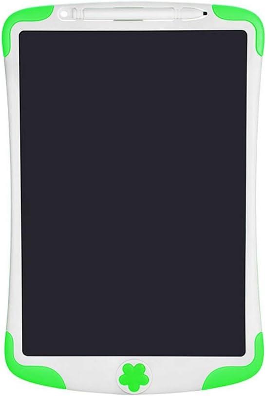 軽量液晶ライティングボード 8.5インチの子供のLCD電子手書きタブレット早期教育ライティング描画タブレット超薄型ポータブルインテリジェント手書きペーパーレス 使いやすい (色 : 緑, Size : 8.5 inches)