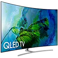 Samsung Electronics QN55Q8C Curved 55-Inch 4K Ultra HD Smart QLED TV (2017 Model)
