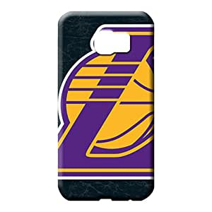 samsung galaxy s6 cell phone carrying cases Snap-on Highquality For phone Cases losangeles lakers nba basketball