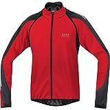 GORE BIKE WEAR JWPHAM Men's PHANTOM 2.0 WINDSTOPPER Soft Shell Jacket, red/black, size M by Gore Bike Wear
