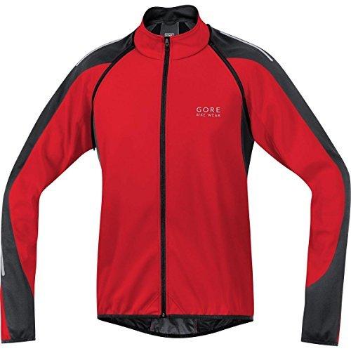 Gore Bike Wear JWPHAMメンズPhantom 2.0 Windstopperソフトシェルジャケット、レッド/ブラック、XLサイズby Gore Bike Wear   B01LE3A718
