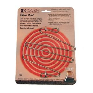 Chemex Stainless Steel Wire Grid for Use on Electric Stove, 6.5 Inch (6.5 Inch Wire)