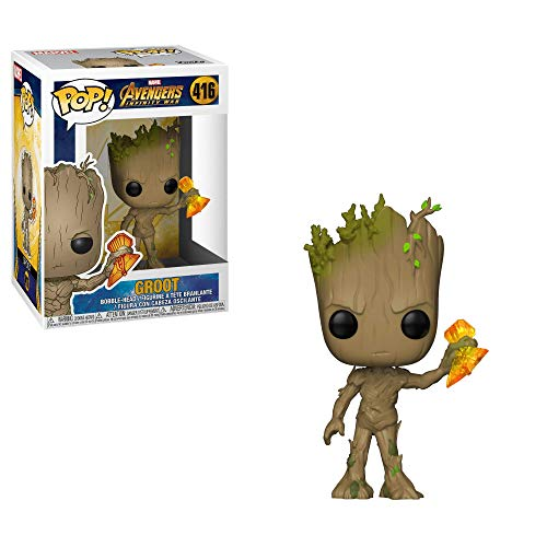 Funko POP! Marvel: Avengers Infinity War - Groot with Stormbreaker -