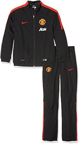 2014-15 Man Utd Nike Woven Tracksuit (Black) - Kids