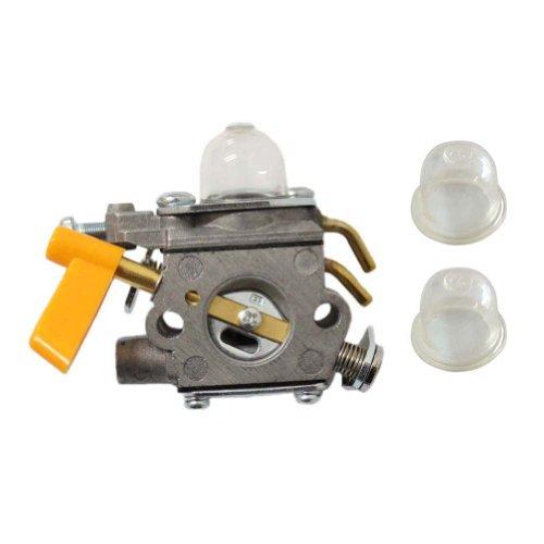 New Park of Carburetor w/ Primer Bulb for Homelite Ryobi Homelite 25cc 26cc String Trimmer Backpack Blower Carb