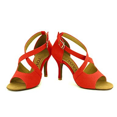 baile Amarillo Salsa de Yellow Negro Personalizables Personalizado Latino Zapatos Tacón Rojo 5qxHtYqw