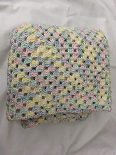 HAND CROCHETED BABY BLANKET (Crocheted Blankets Hand Baby)
