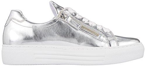 Gabor Women's Comfort Basic Derbys Grey (Argento) best wholesale online hot sale online clearance how much cheap USA stockist footlocker sale online ZdopVA62x