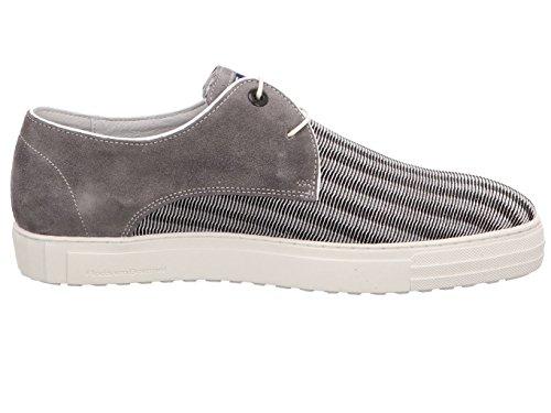Chaussures Lacets Ville Pour Bommel Van Homme à 1408900 Gris de qEETC