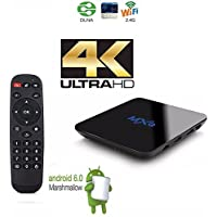 rCJtech NEW MXQ PRO Smart Android TV Box Amlogic S905X Android 6 Marshmallow OS TV Box Mini PC Quad Core 1G/8G 4K Google Streaming Media