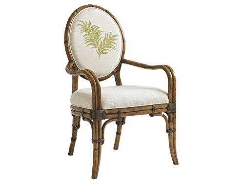 Bali Hai - Gulfstream Oval Back Arm Chair (Furniture Tommy Bahama Rattan)