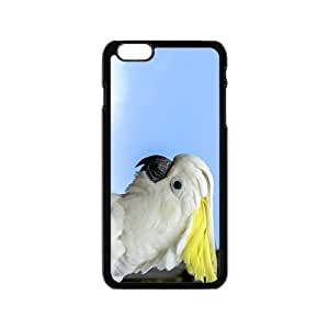 White Parrot Hight Quality Plastic Case for Iphone 6