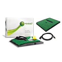 OptiShot 2 Golf Simulator (Mac & PC) Bundle   Includes Extra Replacement Turf and 15ft USB Extension Cable