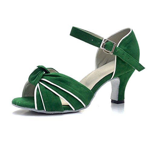 Mujer 6cm Monie Mujer Monie 6cm Salón Salón Monie Salón Green Green Mujer qqHFgwz