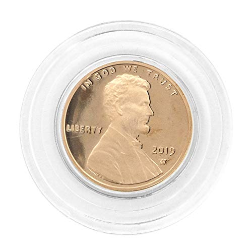 - 2019 W Lincoln Shield Cent in Air Tite - West Point Mint Cent Proof US Mint