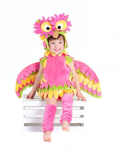 Holly The Owl Child Costumes (Princess Paradise Baby's Holly The Owl Deluxe Costume, As Shown, 3T-4T)