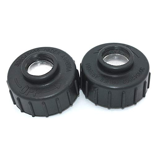 2Pack Right Hand Thread Spool Retainer Bump Knob For Ryobi Homelite Toro John Deere Greenmachine MTD Mcculloch Trimmer head P/N# 308042002 UP04273 DA98866A JA993030 UP04273A A98866A MC-9228-331011