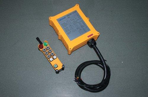 415V HS-8D Dual Speed Hoist Crane Radio Remote Control System