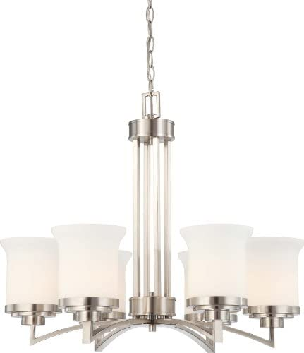 NUVO 60/4105 Six Light Chandelier