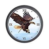 CafePress – Bald Eagle Wall Clock – Unique Decorative 10″ Wall Clock For Sale
