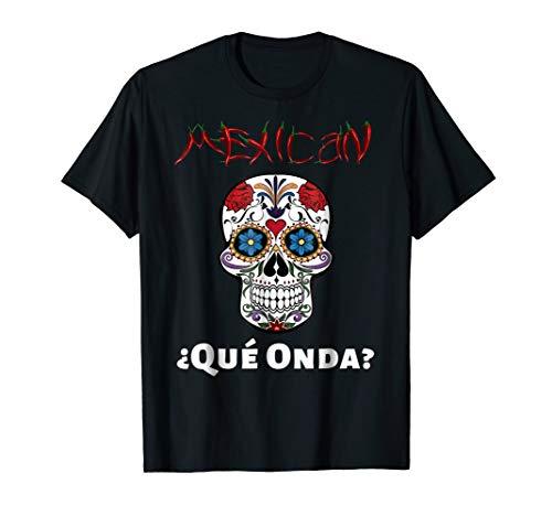 Pepper Skull T-shirt - No Candy But Hot Pepper Skull T Shirt Que Onda