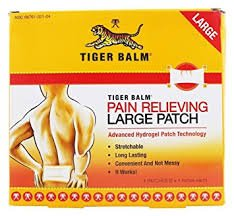Tiger Balm Pain Relieving Patch Large 4 Each (Pack of 18) by Tiger Balm