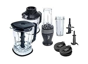 Nutri Ninja 2-in-1 Kitchen Blender (QB3004) (Renewed)