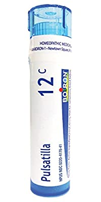 Boiron Homeopathic Medicine Pulsatilla, 6C Pellets, 80-Count Tubes (Pack of 5)